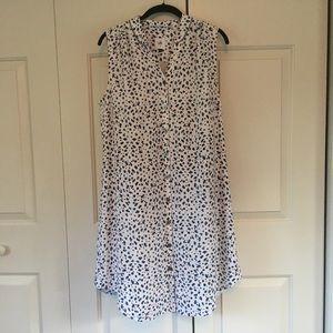 Cabi leopard print dress